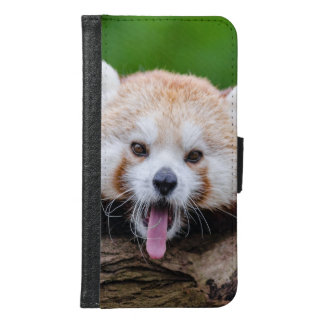 Red Panda Wallet Phone Case For Samsung Galaxy S6