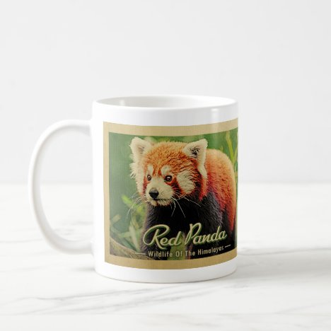 Red Panda - Wildlife Of The Himalayas Coffee Mug