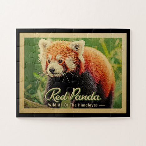 Red Panda - Wildlife Of The Himalayas Jigsaw Puzzle