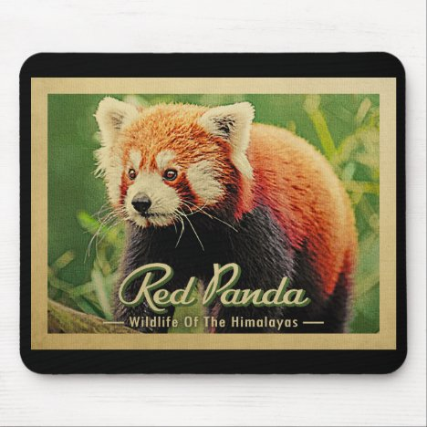Red Panda - Wildlife Of The Himalayas Mouse Pad