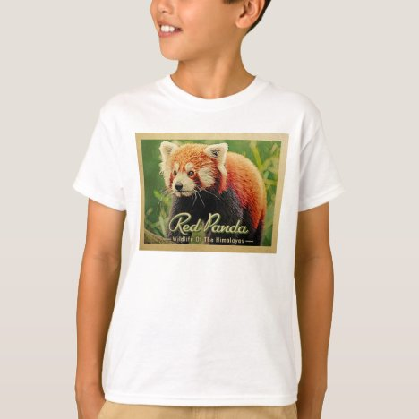 Red Panda - Wildlife Of The Himalayas T-Shirt
