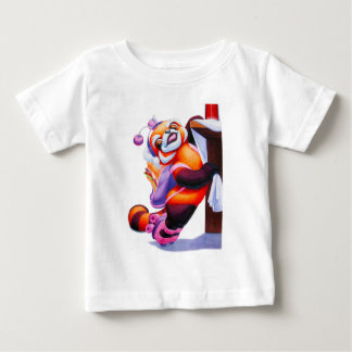Red Panda with Roller-Skates Infant T-shirt