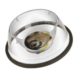 red panda pet bowl