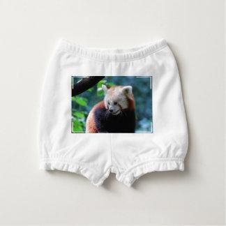 Red Panda Diaper Cover