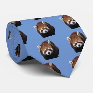 Red Pandas Tie