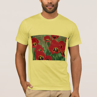 Red Pansies T-Shirt