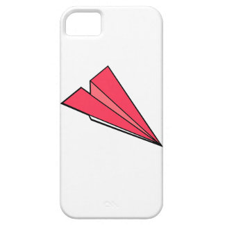 Red paper airplane iPhone 5 covers