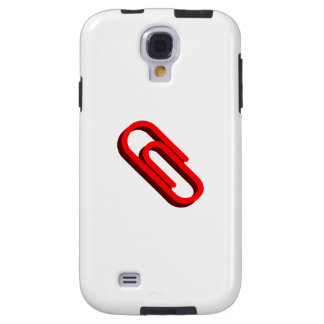 Red Paper Clip Galaxy S4 Case