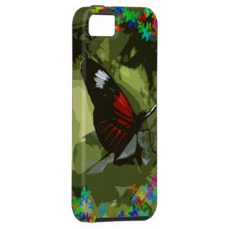 Red Papilio iPhone SE/5/5s Case