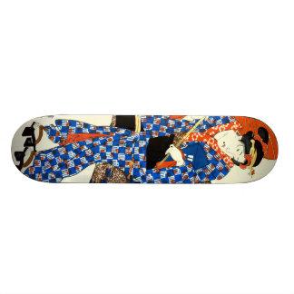 Red Parasol 1843 Skateboard