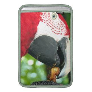 """Red Parrot 11"""" Sleeve MacBook Air Sleeve"""