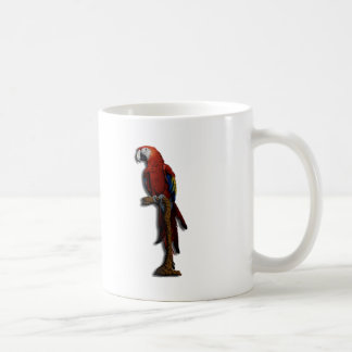 Red Parrot alone mug