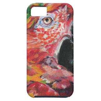 Red Parrot iPhone SE/5/5s Case