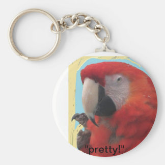 Red Parrot keychain