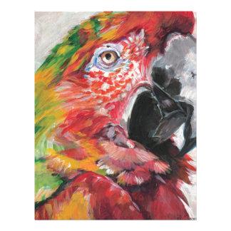 Red Parrot Letterhead