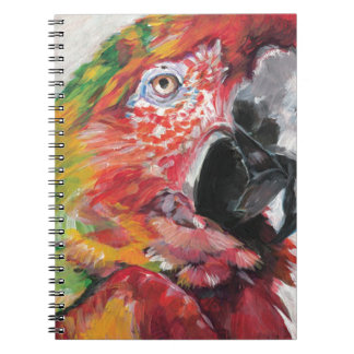 Red Parrot Notebook