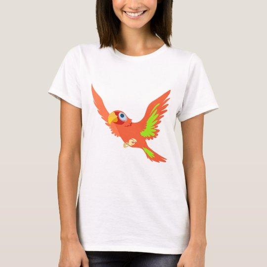 Red Parrot shirt