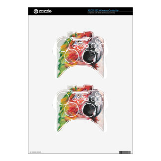 Red Parrot Xbox 360 Controller Decal