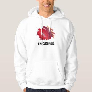 Red Passion Art Men Light Hoodie Sweatshirt