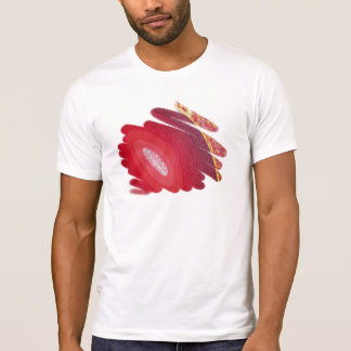 Red Passion Chakra Men Destroyed T-Shirt
