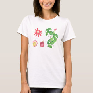 Red Passion Fruit Botanical T-Shirt