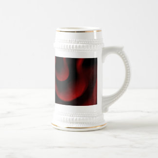 Red Passion 18 Oz Beer Stein