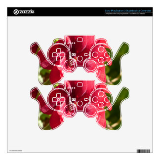 Red Passion Skins For PS3 Controllers