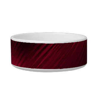 Red pattern bowl