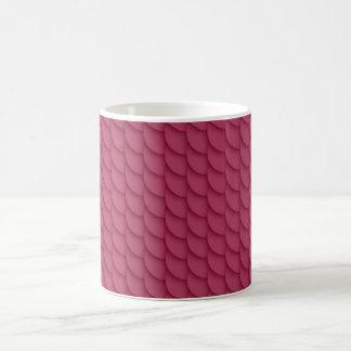 Red Pattern Classic White Mug