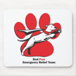 Red Paw essentials Mousepad