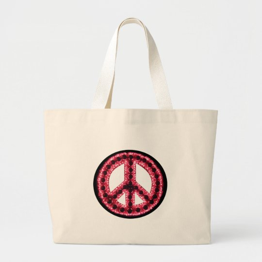 red peace bag