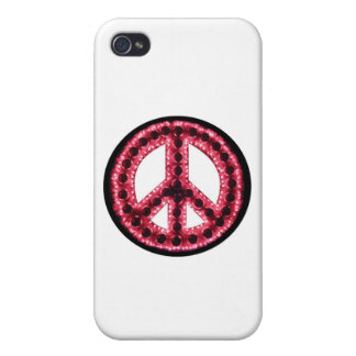 Red Peace IPhone 4 Case