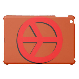 Red Peace Sign Speck Case iPad Mini Covers