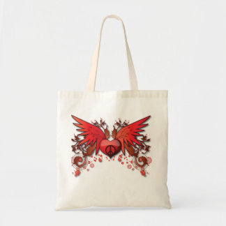 Red Peace Wing Bag