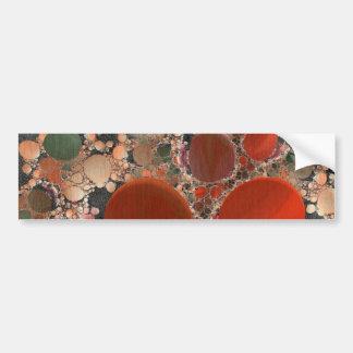Red Pebbles Bumper Sticker