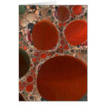 Red Pebbles Greeting Card