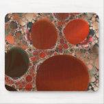 Red Pebbles Mousepad