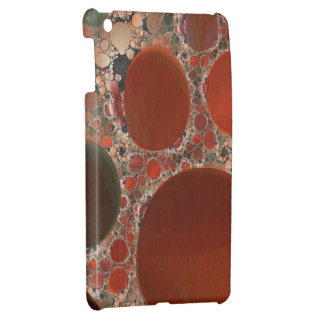 Red Pebbles Savvy iPad Mini Case