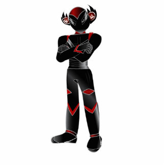 Red Peek Mascot Collectors Item. Acrylic Cut Outs