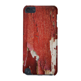 Red Peeling Paint Texture iPod Touch (5th Generation) Covers