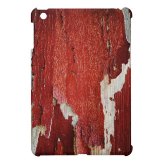 Red Peeling Paint Texture Case For The iPad Mini
