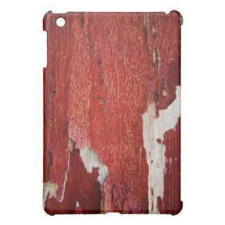 Red Peeling Paint Texture iPad Mini Cover