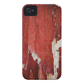 Red Peeling Paint Texture iPhone 4 Case-Mate Cases