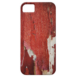 Red Peeling Paint Texture iPhone 5 Covers