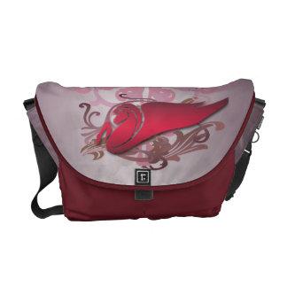 Red Pegasus Urban Messenger Bag