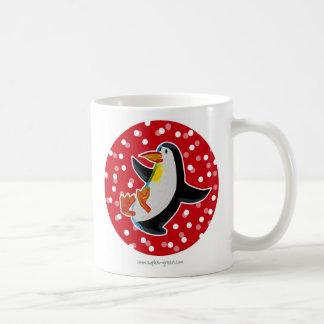 Red Penguin Mug