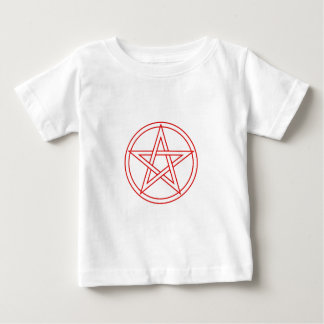 Red Pentacle Baby T-Shirt