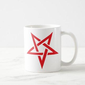 red pentacle mugs