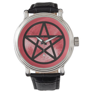 Red Pentacle Watch
