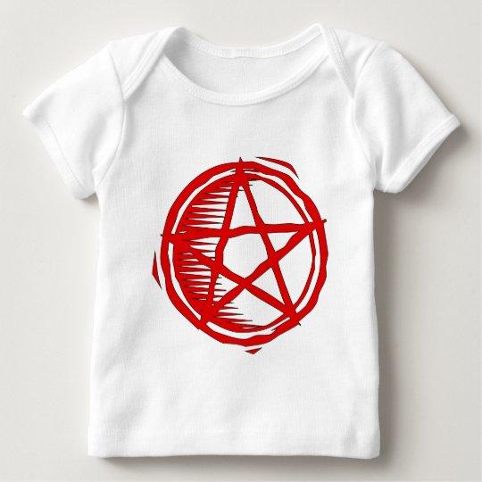 Red Pentagram Baby T-Shirt